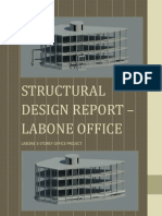 Labone Office Complex Structural Design Report Rev.01