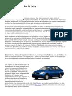 Alquiler De Vehiculos En Ibiza