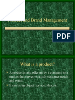 Product and Brand Management Lecture1