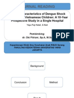 Clinical Characteristics of Dengue Shock Syndrome in Vietnamese