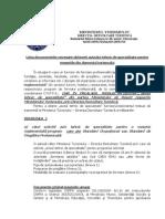 Documentatia Necesara Obtinerii Avizului Tehnic de Specialitate Pentru Meseriile Din Domeniul Turismului