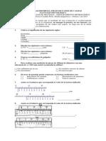 Prueba Diagnóstica 2015 Metrologia