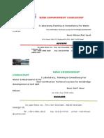 Nznk Environment Consultant 2015
