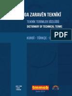 Kürtçe Terimler Sözlüğü_tmmob
