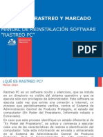Manual Instalacion Rastreo PC
