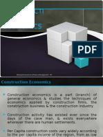 Lecture 2- Coconstruction economicsnstruction Economics