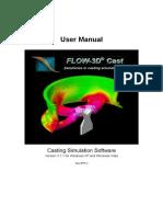 FLOW-3D Cast 3.1 Manual
