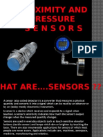 Mechtronics Pres on Proximity Nd Pressure Sensors