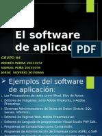 El Software de Aplicación