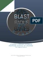 Blast Radius Games Business Proposal - University of Portsmouth