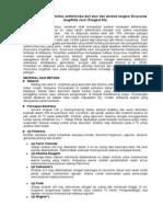 Uji Fitokimia Dan Aktivitas Antimikroba Dari Akar Dan Ekstrak Tangkai Eurycoma Longifolia Jack