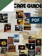 Car Care Guide - Popular Mechanics - May 1976