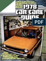 Car Care Guide - Popular Mechanics - May 1978
