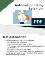 ASIT Selenium
