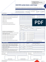 Form SKD (Untuk Klaim Rawat Inap)