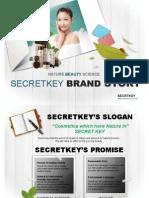 Secretkey Cosmetics Presentation