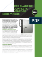 Poweredge m805 m905 Spec Sheet Es