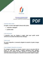 Istruzioni pedaliera volta-pagina Moraldiweb