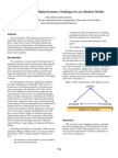 Defining the Digital Economy - Business Models