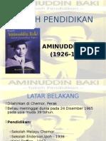 Tokoh Pendidikan Aminudin Baki