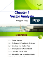 Chapter 1 -Vector Analysis