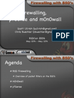 Bsd Firewalling Pfsense and m0n0wall3034
