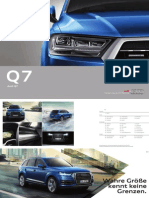 Audi Q7 consumer catalogue (2015, Germany)