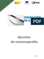 Apuntes mecanografia