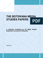 Botswana Media Studies Papers Vol 2