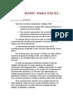Visual Basic Para Excel