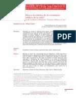 Sacchi y Saidel - Foucault Biopolitica y Artes de Existencia [Banquete de Los Dioses]