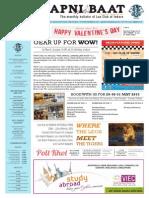 LCI's Apni Baat - February '2015