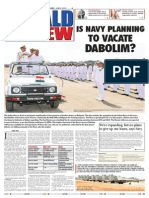 Is Navy Planning to Vacate Dabolim