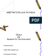 Arbitration Law in India - Important Provisions