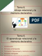 Tema 6 El Aprendizaje Relacional