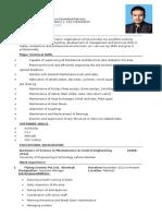 Shsheryar CV