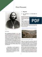 Vida y obra de Pablo Florenskiy