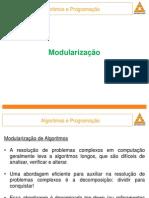 Modulização algoritmo e programação