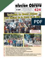 Semanario Revolución Obrera Ed. 424