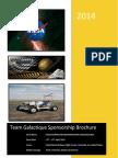 Brochure Team Galactique