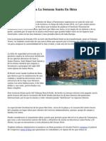 Menos Hoteles Para La Semana Santa En Ibiza