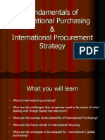 international sourcing intro