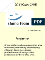 Stoma wound care