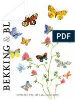 B&B Notecard Wallet Catalog 2015