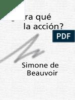 Beauvoir-Para qué la acción.pdf