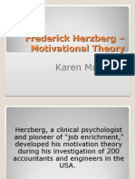 187881092-FrederickHerzberg-MotivationalTheory.ppt