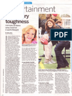 """Necessary Roughness"" feature with Callie Thorne interview"