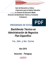 Programa de Estudios BATAN