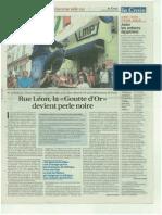 Articles La Croix, Le Parisien