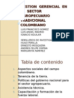 Sector Agropecuario Colombiano
